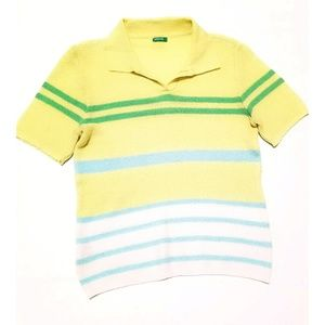 Made in Italy of Benetton Gauze Top